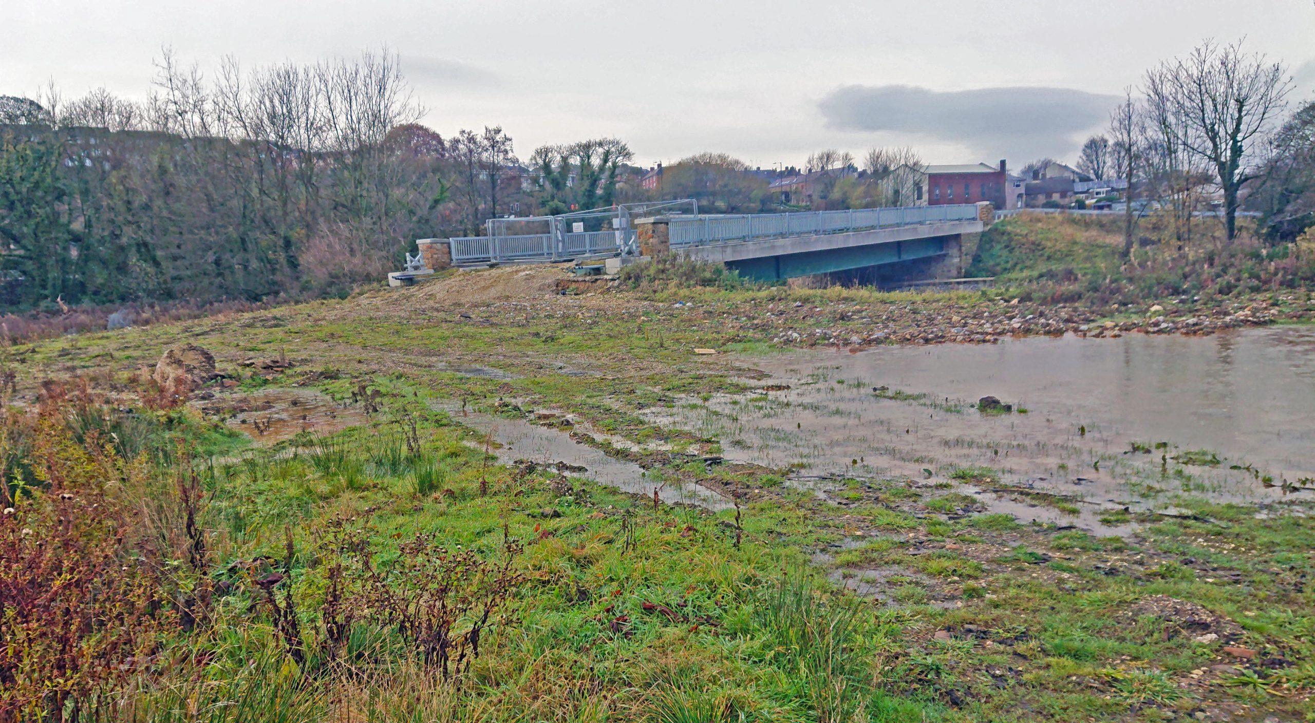 The old Stein brickworks site at Deepcar