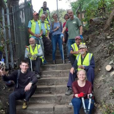 Volunteers Reclaim Forgotten Footpath